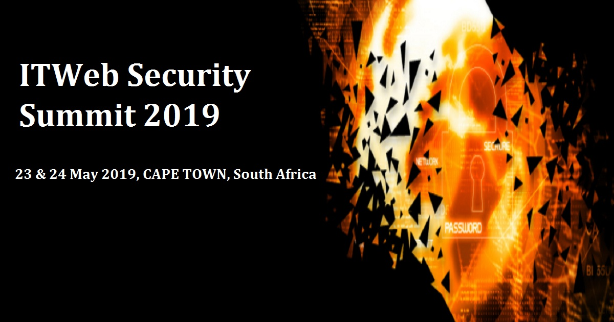 ITWeb Security Summit 2019
