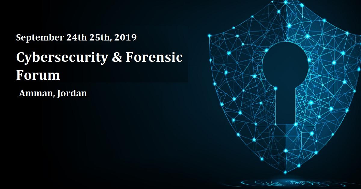 Jordan Cybersecurity & Forensics Forum - 2019