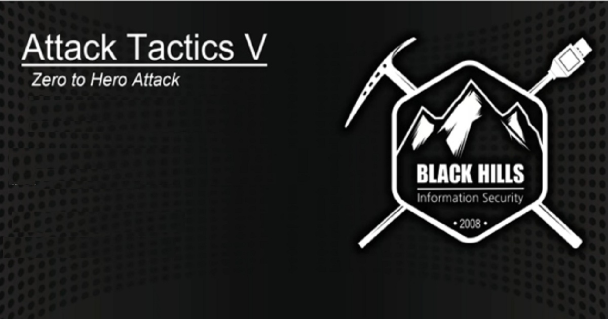 Attack Tactics 5 – Zero to Hero Attack