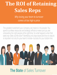 THE ROI OF RETAINING SALES REPS