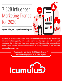 THE TOP B2B INFLUENCER MARKETING TRENDS FOR 2020