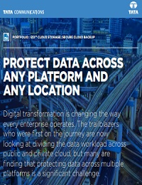 PROTECT DATA ACROSS ANY PLATFORM AND ANY LOCATION