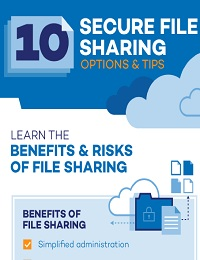 DATA SECURITY: 10 SECURE FILE SHARING OPTIONS AND TIPS