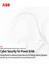CYBER SECURITY FOR POWER GRIDS