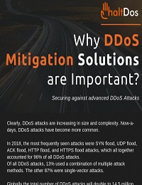 WHY DDOS MITIGATION SOLUTIONS ARE IMPORTANT?