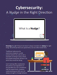 CYBERSECURITY: A NUDGE IN THE RIGHT DIRECTION