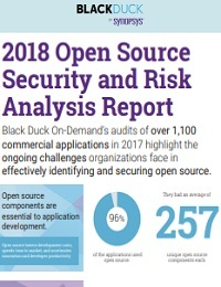 2018 OPEN SOURCE SECURITY AND RISK ANALYSIS REPORT