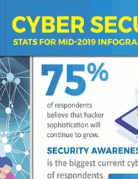 CYBER SECURITY STATS FOR MID-YEAR 2019