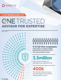 CLOSE THE SKILLS GAP WITH ONE TRUSTED ADVISOR FOR EXPERTISE