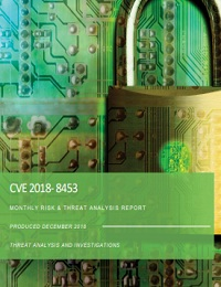 CVE 2018- 8453 MONTHLY RISK & THREAT ANALYSIS REPORT