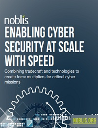 ENABLING CYBER SECURITY AT SCALE WITH SPEED