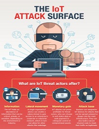 THE IOT ATTACK SURFACE: THREATS AND SECURITY SOLUTIONS