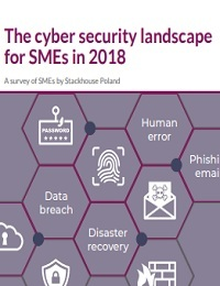 THE CYBER SECURITY LANDSCAPE FOR SMES IN 2018