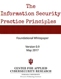 THE INFORMATION SECURITY PRACTICE PRINCIPLES