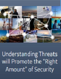 """UNDERSTANDING THREATS WILL PROMOTE THE """"RIGHT AMOUNT"""" OF SECURITY"""