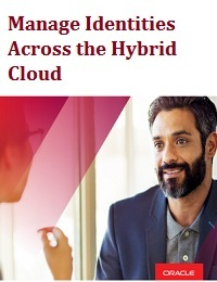 MANAGE IDENTITIES ACROSS THE HYBRID CLOUD