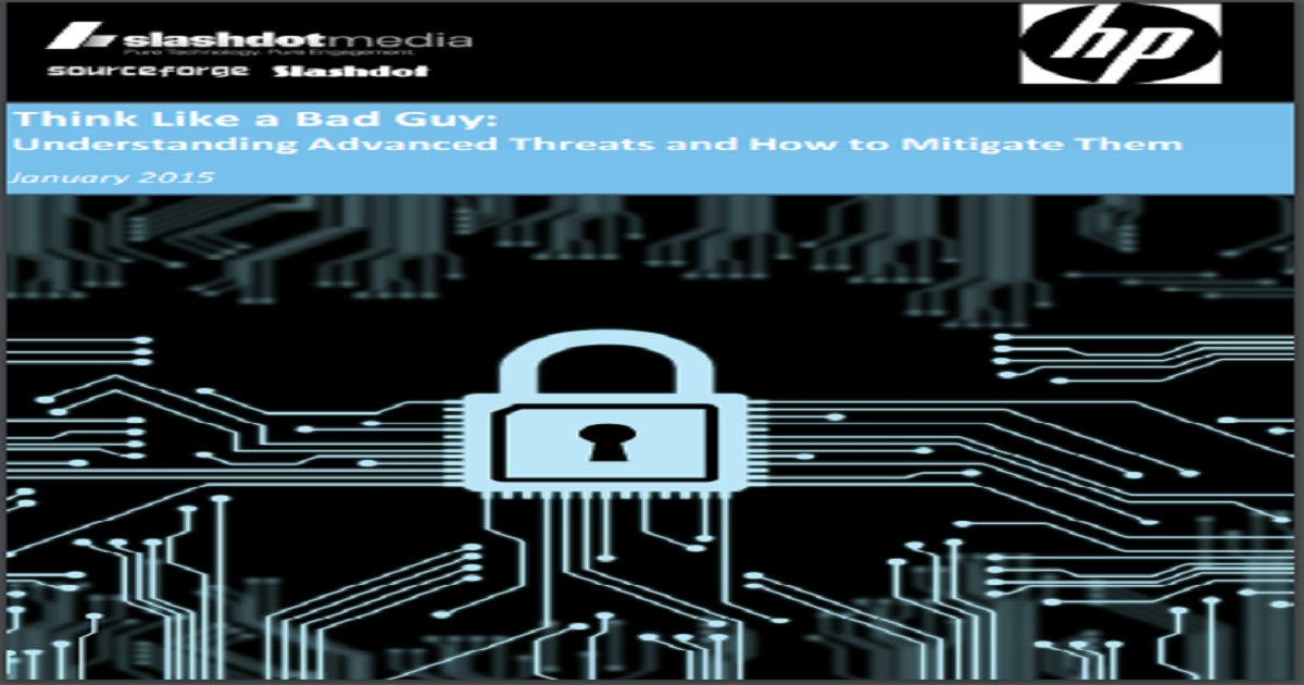 UNDERSTANDING ADVANCED THREATS AND HOW TO MITIGATE THEM