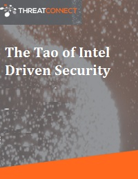 THE TAO OF INTEL DRIVEN SECURITY