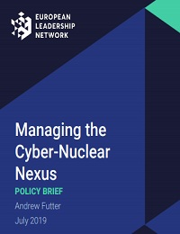 MANAGING THE CYBER-NUCLEAR NEXUS