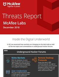 THREATS REPORT MCAFEE LABS DECEMBER 2018