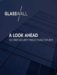A LOOK AHEAD 10 CYBER SECURITY PREDICTIONS FOR 2019