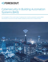 CYBERSECURITY IN BUILDING AUTOMATION SYSTEMS (BAS)
