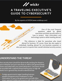 A TRAVELING EXECUTIVE'S GUIDE TO CYBERSECURITY