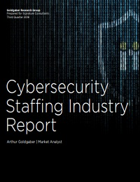 CYBERSECURITY STAFFING INDUSTRY REPORT