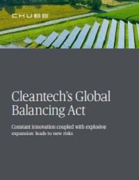 CLEANTECH'S GLOBAL BALANCING ACT