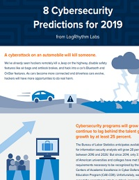 8 CYBERSECURITY PREDICTIONS FOR 2019