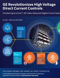 GE REVOLUTIONIZES HIGH VOLTAGE DIRECT CURRENT CONTROLS