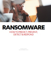 RANSOMWARE: HOW TO PREVENT, PREDICT, DETECT & RESPOND