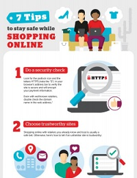 7 TIPS TO STAY SAFE WHILE SHOPPING ONLINE
