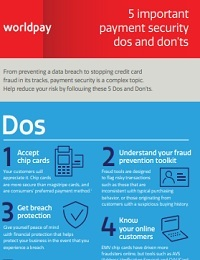 5 IMPORTANT PAYMENT SECURITY DOS AND DON'TS