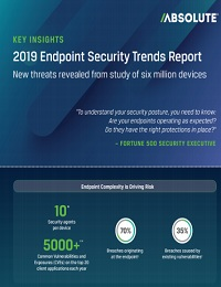 KEY INSIGHT: 2019 ENDPOINT SECURITY TRENDS REPORT