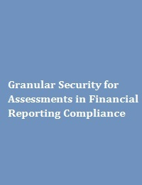GRANULAR SECURITY FOR ASSESSMENTS IN FINANCIAL REPORTING COMPLIANCE