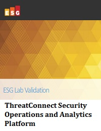 THREATCONNECT SECURITY OPERATIONS AND ANALYTICS PLATFORM