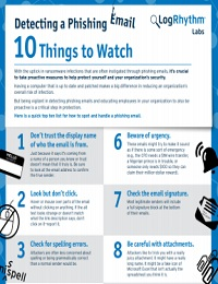 TEN TIPS TO DETECT A PHISHING EMAIL