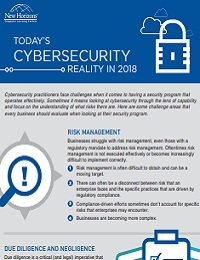 TODAY'S CYBERSECURITY REALITY IN 2018