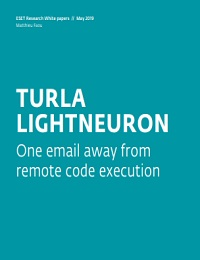 TURLA LIGHTNEURON ONE EMAIL AWAY FROM REMOTE CODE EXECUTION