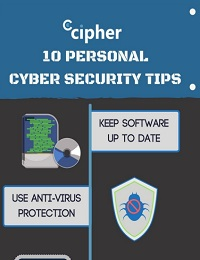 10 PERSONAL CYBER SECURITY TIPS