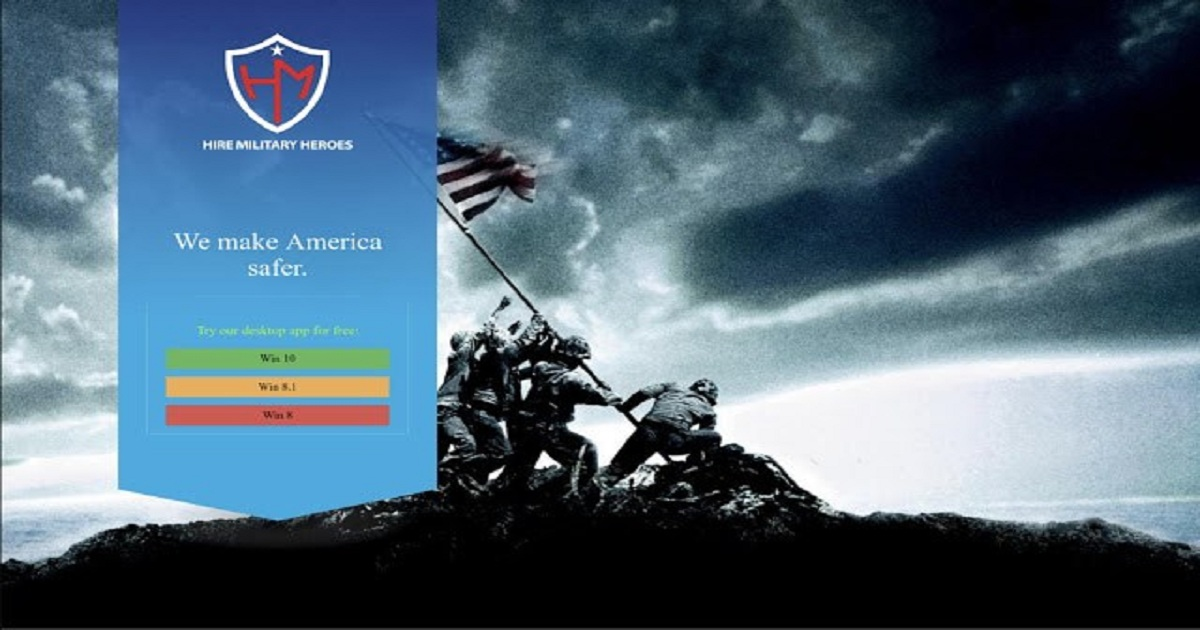 CYBERCROOKS TARGET U.S. VETERANS WITH FAKE HIRING WEBSITE