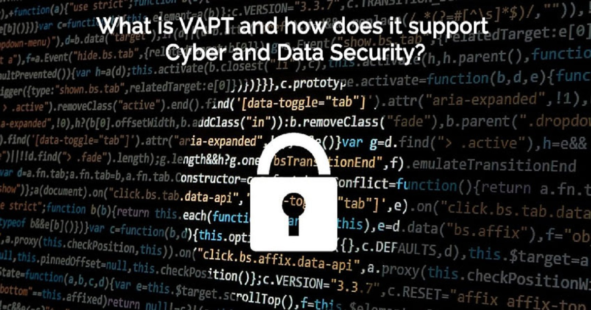 WHAT IS VAPT AND HOW DOES IT SUPPORT CYBER AND DATA SECURITY?